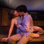 Photo by Joe Mazza, Brave Lux. Brendan Connelly and McKenna Liesman as Romeo and Juliet.