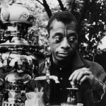James Baldwin in 1965, drinking tea from a samovar in Istanbul, Turkey. Credit - Sedat Pakay